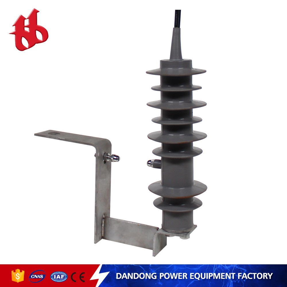 Low price China factory silicone rubber thunder Solar Surge outdoor lightning Arrester