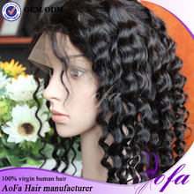 Lace Frontal Wigs Ponytail Full Lace Human Hair Wigs With curly human hair wigs for black women
