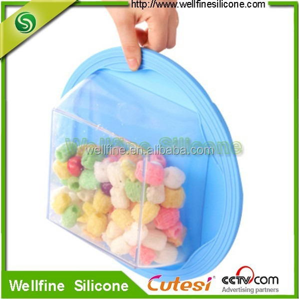 Silicone flesh wrap or preservative film for food/vegetable