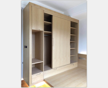 china factory plywood wooden bedroom cabinet wardrobe cabinet price custom