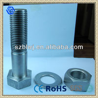 Hex Head Bolts And Nut Washer Assembly In Hardware