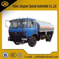 dongfeng 4*2 4*4 fuel bowser oil tank fuel tank transport delivery truck 8000-15000L 2000gallon-3000gallon fuel tank truck