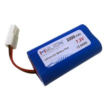 Mylion Rechargeable 18650 lithium battery 7.4v 2600mah For Toy RC Model Power From China Factory