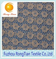African circular breathable lace fabric for summer wear