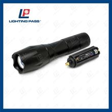 outdoor led working light zoom flashlight led high power