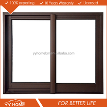 Aluminium frame sliding glass window, sliding window with mosquito net, price of aluminium sliding window