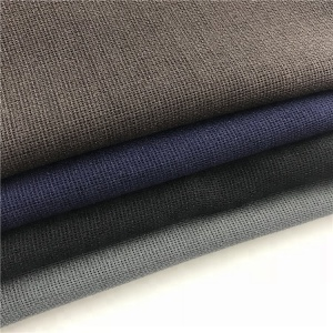 High quality 100% polyester linen look washed fabric for ladies shirt