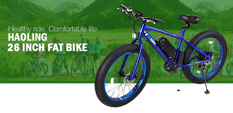 "Fat bike importer electric bicycle 26"" fat tire for sale"