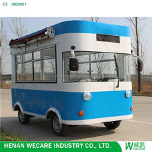 WK-320E small mobile bus food trailer for sale muban