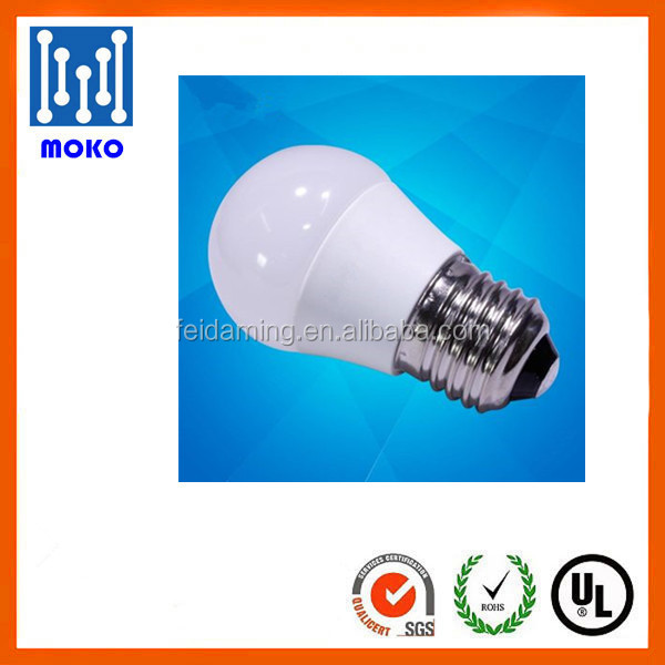 Led Bulb E27 7w/9w/12w Aluminum And Plastic A60 cool white Led Bulb