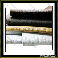 high quality wear-resistence perforated leather punch leather for car seat cover