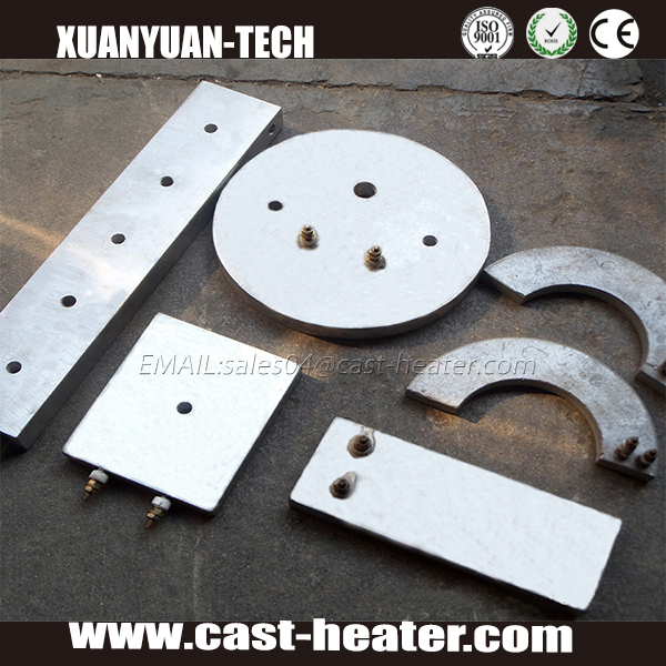 Electric Round Heating Plate Die Casting Aluminum Heater