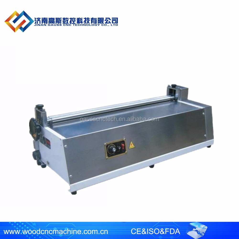 Super quality desktop GS-900 paper glue machine/ box cover gluing machine (Eco-friendly)