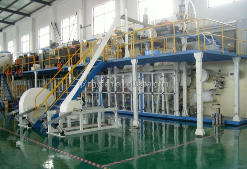 baby diaper production line from China