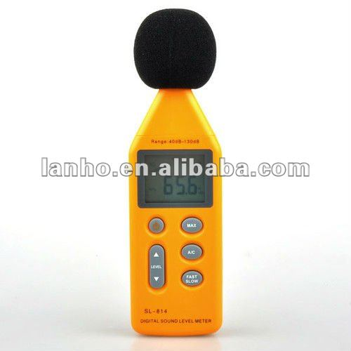 Portable Handy Digital Sound Noise Level Meter Decibel Pressure Logger