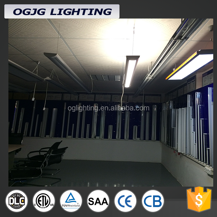 2ft - 8ft LED linear direct and indirect suspended light