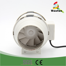 Greenhouse ventilation inline duct fan