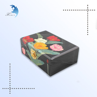 Factory sale custom logo carved small wholesale wooden jewelry box