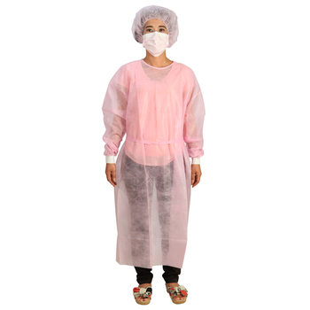 Isolation Hospital Medical Patient Disposable Surgical Gown