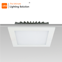 High Brightness surface mounted ultra slim thin ul 6w 12w 18w glass dimmer light ceiling led grow panel light 5years