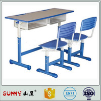 College school desk and chair,children classroom furniture,high school furniture classroom chairs