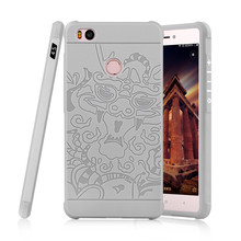 Special Chinoiserie Dragon Design Shockproof Cover Phone Case for Xiaomi MI 4/4i/4S/4C