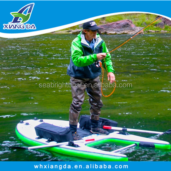 2016 ce certification new hand made float tube pvc for Fly fishing raft for sale