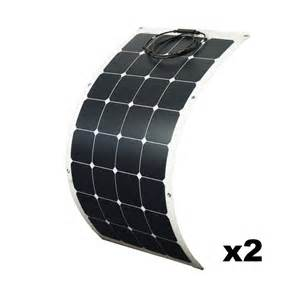 22% high efficiency silicon wafer price flexible solar panel 100w 18v in shenzhen