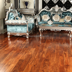 UV Lacquer anti-scratch finish small-leaf acacia solid wood flooring