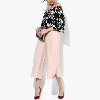 Women's 3/4 Wide Leg Pants
