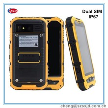 Outdoor three proof 4.0inch MTK6572 waterproof IP67 rugged mobile phone