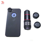 10x Zoom Telephoto Lens, Mobile Phone Case for Iphone 4S