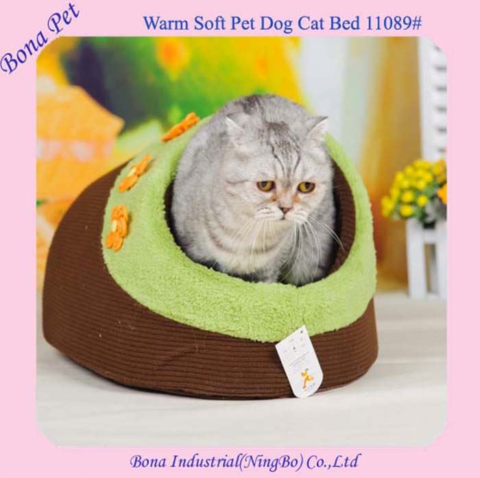 Best Wholesale Little Daisy Large Cat Beds With Covered