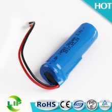 3.7V 800mah cylindrical li-ion battery round rechargeable 14500 lithium li ion battery for torch light