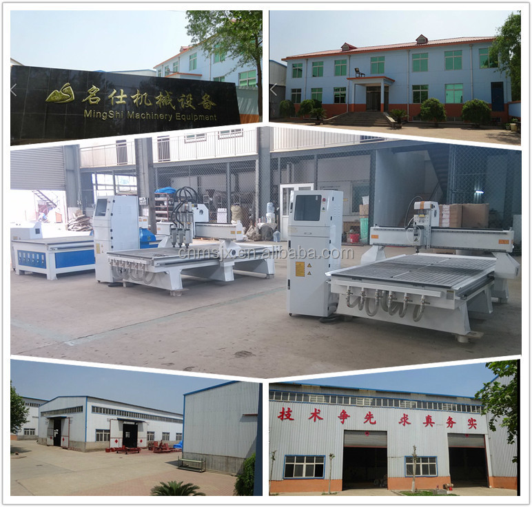 China 4'x8' CNC Router with Heavy bed structure