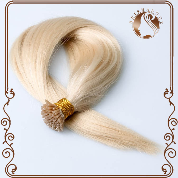100 wholesale raw virgin unprocessed human hair 2g strands i tip blonde hair extension