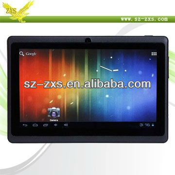 ZXS-Shenzhen Q88 7 inch Android 4.0 A13 Capacitive Screen White /Black 512RAM 4/8GB ROM WIFI Tablet PC MID