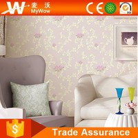 [A4-15A100103] Cheap Thin Indoor Luxury Non-woven Embossed Wallpaper Manufacturer