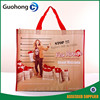 Custom Cheapest Full Color Printing Customer Required Logo Promotional Shopping PP Non Woven Laminated Carrier Bags