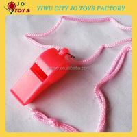 Wholesale Plastic Whistle with rope