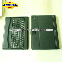 High Quality PU Leather Blue Tooth Keyboard Cover for ipad air Laudtec