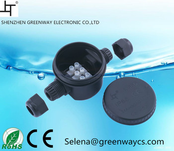 IP66 Waterproof Plastic Sealed Electric Junction Enclose Box round type
