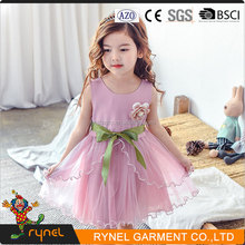 PGCC3849 Beautiful Girl Without Dress Fashion Design Small Girls Dress Baby Girl Party Dress