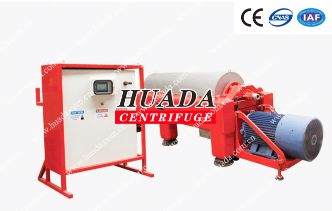 LW Continuous Continuous Decanter Centrifuge In Drilling Mud Solution System