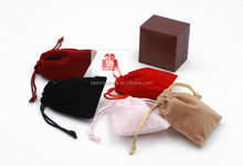 Cotton or mesh drawstring bag cotton drawstring bag muslin pouches colorful jewelry bracelet pouch shoe packing pouch