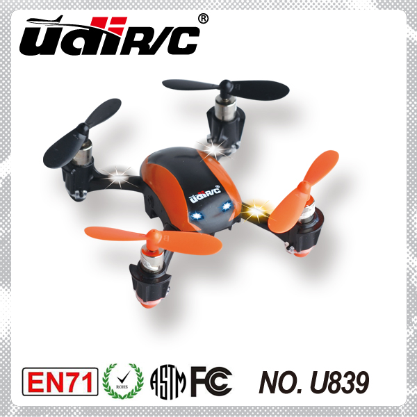NEW! 3D 4 channel remote control toy drone U839