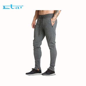 Wholesale Workout Fitness Sweat pants Sport Slim Fit Running Track Pants Gym Cotton Polyester Joggers Mens