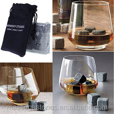 Whiskey Sipping Stone, soapstone whiskey stones,Whisky Ice Cube Rocks