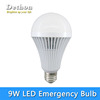 9W E27 B22 Rechargeable LED Emergency