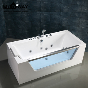 Cheap Factory Whirlpool Bathtub Acrylic Freestanding Bath for Adults